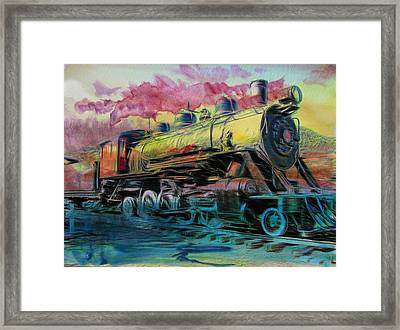 Framed Print featuring the photograph Steam Powered by Aaron Berg