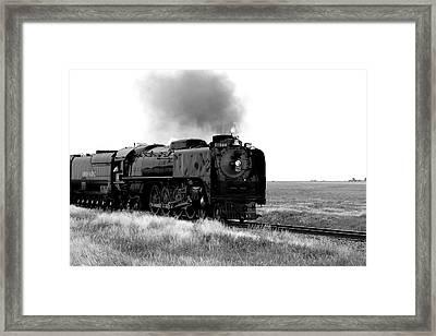 Steam Powered Framed Print