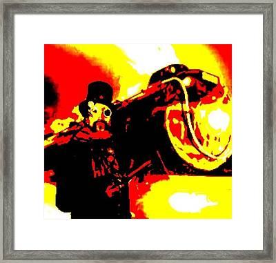 Steam Punk Style Framed Print by Larry E Lamb