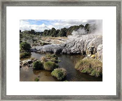 Steam Framed Print by Ron Torborg