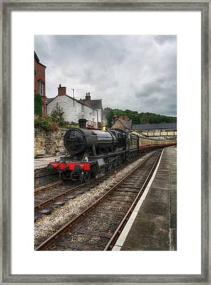 Steam Train Framed Print by Ian Mitchell