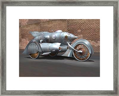 Steam Turbine Cycle Framed Print by Stuart Swartz