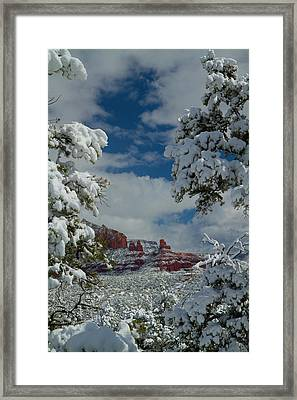 Steamboat Beckons Framed Print
