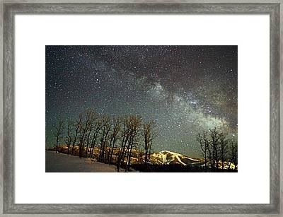 Steamboat Dreams Framed Print