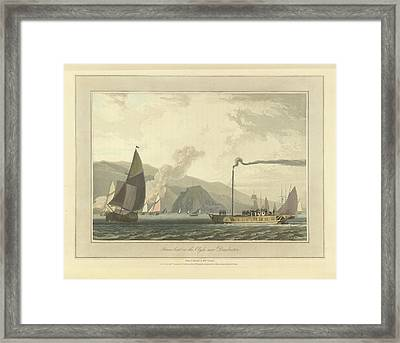 Steamboat On The River Clyde Framed Print