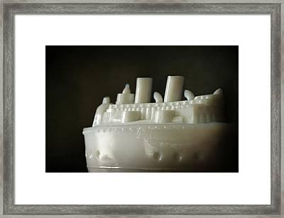 Steamboat Framed Print by Rebecca Sherman