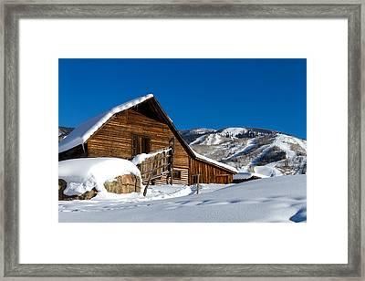 Steamboat Springs Colorado Framed Print by Teri Virbickis