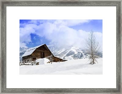 Steamboat Springs Framed Print by Teri Virbickis