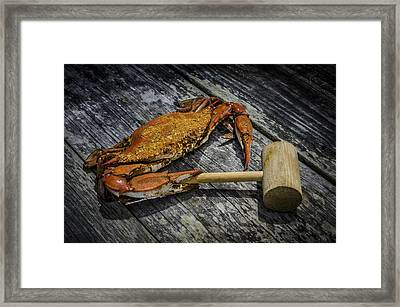 Steamed And Spiced 2 Framed Print by Bradley Clay