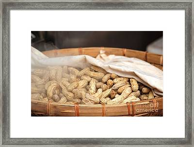 Steamed Peanuts Framed Print by Yali Shi
