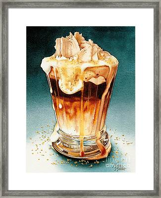 Steamed Pumpkin Hazelnut Smash Framed Print by Mara  Mattia