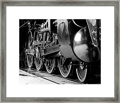 Steamer Up 844 Wheels Framed Print