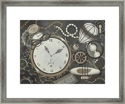 Steampunk Adventure Framed Print