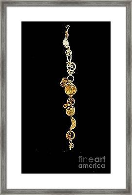 Steampunk Bracelet I Framed Print by Elizabeth Hoskinson