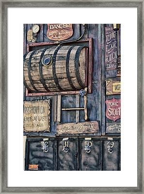 Steampunk Brewery  Framed Print by Eti Reid