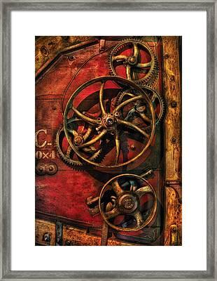 Steampunk - Clockwork Framed Print