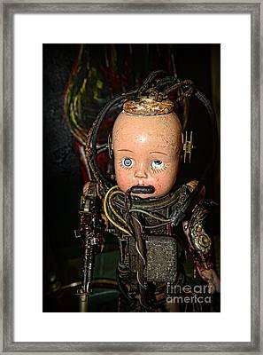 Steampunk - Cyborg Framed Print by Paul Ward