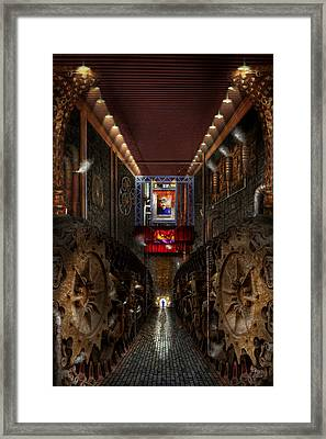 Steampunk - Dystopian Society Framed Print by Mike Savad