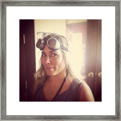#steampunk Gear Shopping For Framed Print