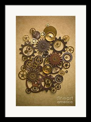 Watch Parts Framed Prints