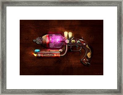 Steampunk - Gun -the Neuralizer Framed Print by Mike Savad
