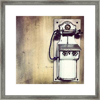 Steampunk Gypsyphone Framed Print by Kevin Ohr