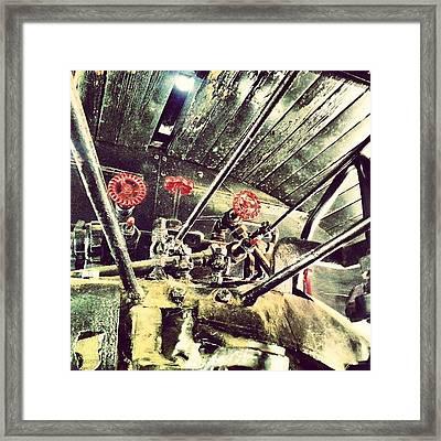 #steampunk Indeed #traveltown Framed Print