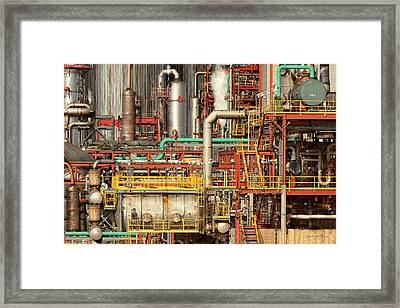 Steampunk - Industrial Illusion Framed Print by Mike Savad