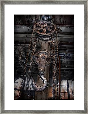 Steampunk - Industrial Strength Framed Print
