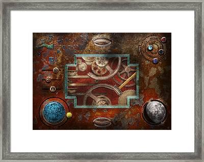 Steampunk - Pandora's Box Framed Print