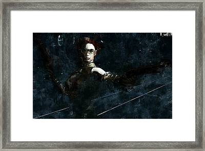 Steampunk Stand-off Framed Print