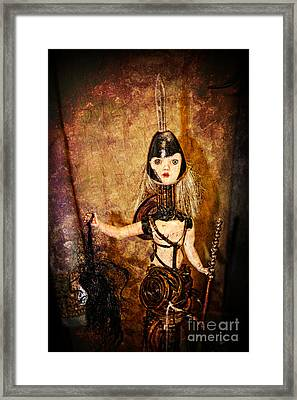 Steampunk - The Headhunter Framed Print by Paul Ward