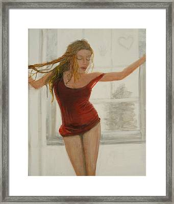 Sultry  Framed Print by Larry Lamb