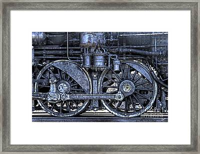 Steel Framed Print by Alana Ranney