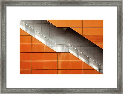 Steel Framed Print by Alida Van Zaane