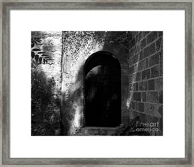 Steel And Stone Framed Print
