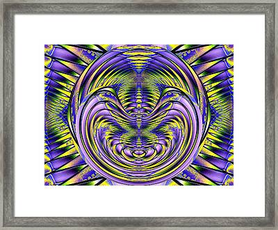 Steel Cheshire Framed Print by Tim Allen