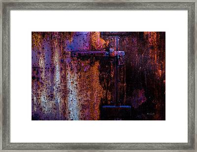 Steel Door Number Two Framed Print by Bob Orsillo