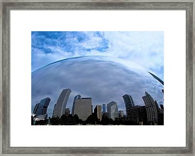 Steel Globe Framed Print