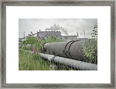 Steel Industry Framed Print