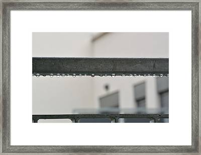 Steel Life  Framed Print