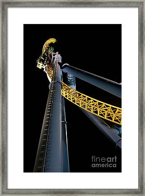 Steel Venom Framed Print