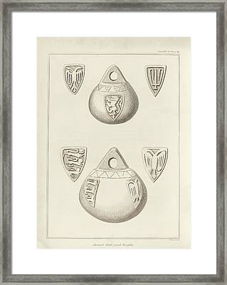 Steel-yard Balance Weights Framed Print