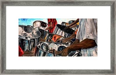 Steelband Music Sweet Framed Print