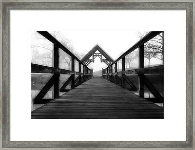 Steele Creek Crossing Framed Print