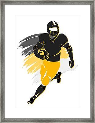 Steelers Shadow Player2 Framed Print