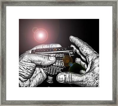Steelworker's Blues Framed Print