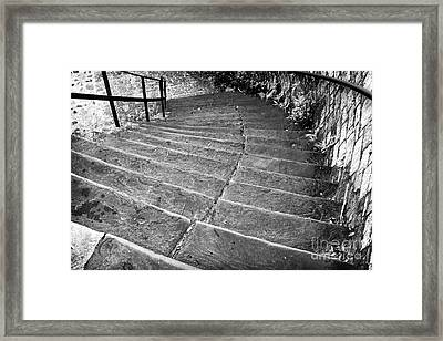 Steep Framed Print