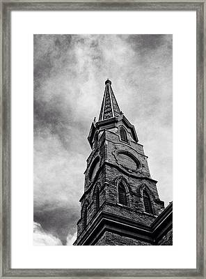 Steepled  Framed Print