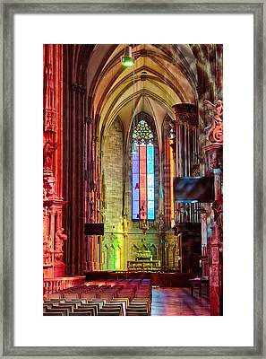 Stefan In Colors 2 Framed Print by Viacheslav Savitskiy